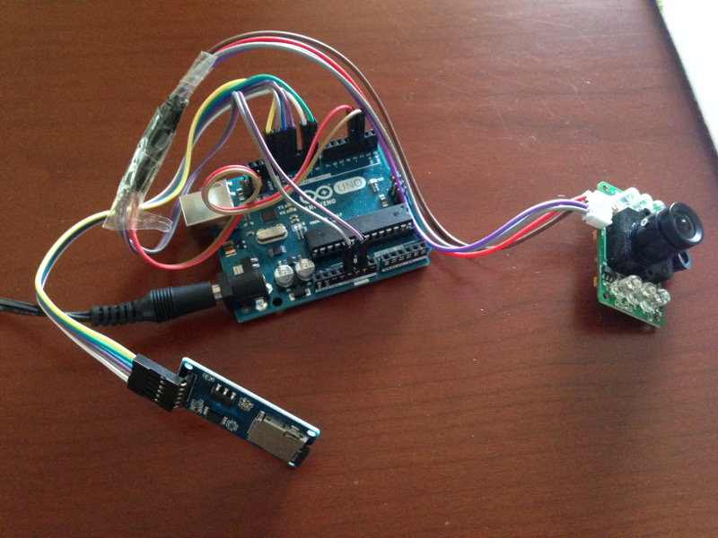 Photo spy cam using arduino